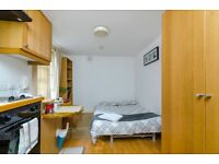Modern self contained studio in West Kensington available now. FREE WIFI and SKY TV. NO ADMIN FEES.