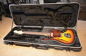 Fender 1 of 100 jaguar thinline with extras