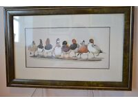 Set of 10 DUCK prints by Art La May