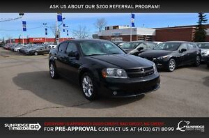 2013 Dodge Avenger R/T, HEATED SEATS, MOONROOF, BLUETOOTH