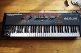Roland Juno 106 Vintage Analog Synth 100% Working