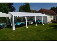 Commercial Grade Heavy Duty Marquee 5m x 8m (17ft x 27ft)