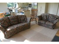 Derwent 3 seater, 2 seater sofa and arm chair