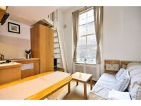 MODERN, SPLIT LEVEL Studio Apartment in West Kensington (ZONE 2, WEST LONDON)
