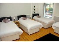 6 x Single Beds with Mattresses for Sale