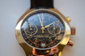 Poljot sekonda manual wind mechanical chronograph wristwatch-Russian- cal 3133- New old stock - '90s