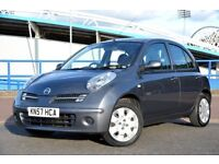 NISSAN MICRA 1.2 SPIRITA 5DR - *FULL SERVICE HISTORY* - *LOVELY CHEAP CAR* INCLUDES 1 YEAR WARRANTY*