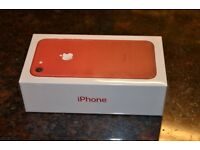 iphone 7 red special edition - 128gb never opened.