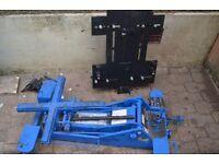 weber engine/ transmission jack