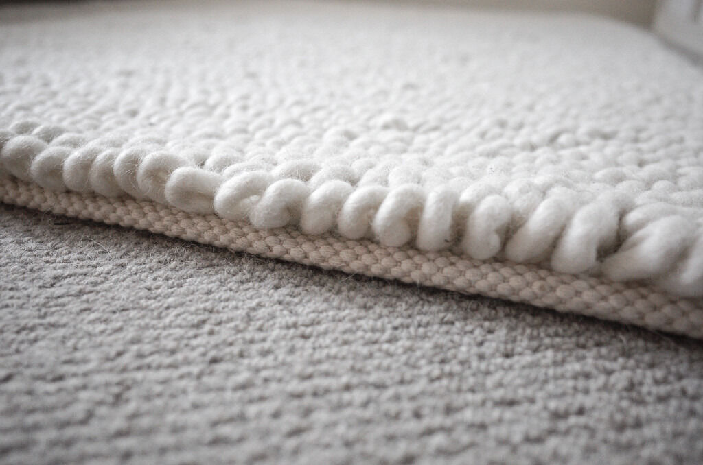 100 Pure Wool Thick Pile Designer Rug From Plantation Company Jessica