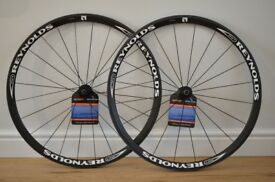 New Reynolds MV32 T Ultralight Carbon Tubular Wheelset - only 1060 grams actual weight!
