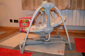 BABY SWING TAGGIES with songs