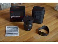 SIGMA 10-20mm f/3.5 **Nikon Fit** EX DC