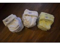 Big bundle of cloth nappies (preloved)