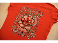 Two collectable 'England' T Shirts including 'Home of the Rose Victorious' - Girls size 12