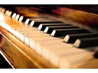 Experienced Dip.ABRSM piano tutor offering unique classical, jazz, theory and music therapy lessons