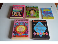 REDUCED! Children's Books (Jacqueline Wilson ) - Please collect on July 1st