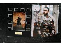 Genuine signed Russel Crowe Gladiator Pucture