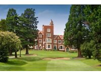 Part time bar staff at North London golf club
