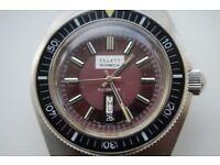 Tillett automatic mechanical diver's wristwatch - Swiss - '70s -Vintage