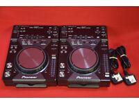Pair Of Pioneer CDJ 400 Limited £500