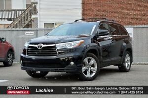 2016 Toyota Highlander Limited CUIR TOIT GPS ET +++ FULL EQUIPED