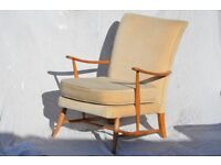 Comfortable classic Ercol lounge chair