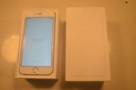 Gold 16gb iphone 6 on Vodafone
