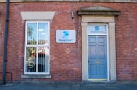 Office Share - Flexible Contract £125pcm ALL INCLUSIVE
