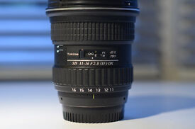 Tokina SD 11-16mm f2.8 (IF) DX (RRP £450!!)