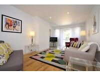 A two bedroom house with a private garden in Holland Park. Available for Short let and Long let