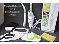 Morphy Richards 9 in 1 Steam Mop Cleaner RRP £55 Walthamstow
