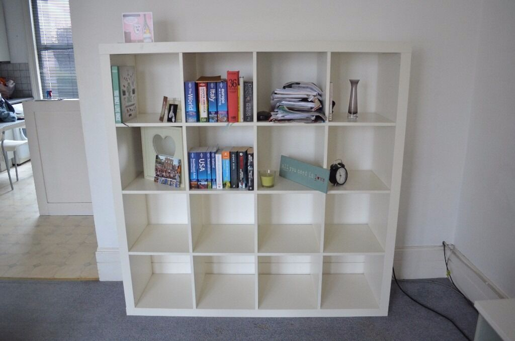 4x4 ikea kallax bookshelf in hammersmith london gumtree. Black Bedroom Furniture Sets. Home Design Ideas