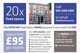 Amazing Co-Work space available in CHELSEA, SW3 5EZ - Prices start from £95/month - Apply now!