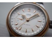 Oris Big Crown Pointer automatic mechanical wristwatch - Swiss - 7482-B - Mid-sized 36mm - Bi-metal