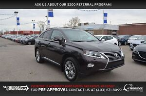 2014 Lexus RX 350 AWD, LEATHER, SUINROOF, HEATED SEATS, NAV