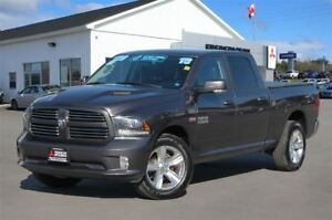 2015 Ram 1500 SPORT | REDUCED | CREW | HEATED SEATS | NAV