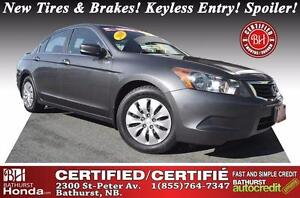 2010 Honda Accord Sedan LX Certified! New Tires & Brakes! Keyles