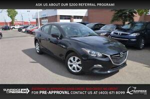 2016 Mazda MAZDA3 GX, BACKUP CAMERA, BLUETOOTH, CRUISE
