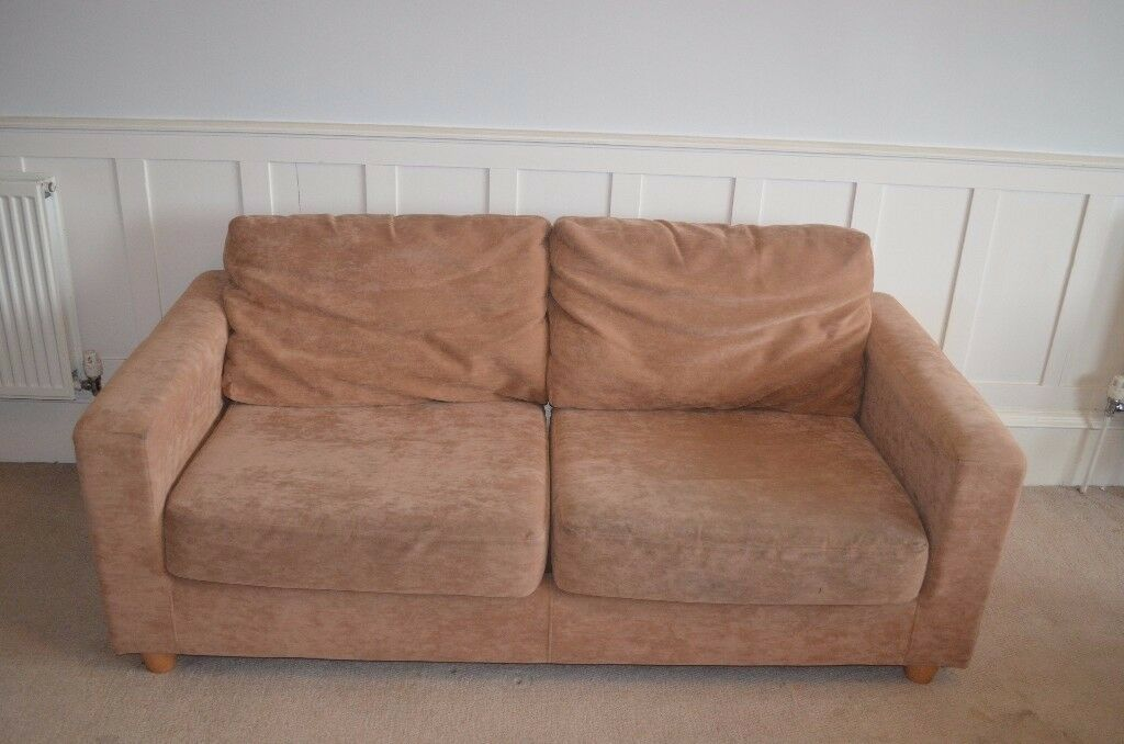 Cream 3 seat Sofa / Couch - Great condition! MUST GO