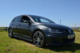 VW Golf GTD MK7 - TDI 185PS 2.0l 6-Speed (Manual) - Carbon Grey - Heated Leather Seats, Keyless, DCC