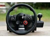 Logitech G25 steering wheel