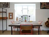 SpaceHoppers Co-Working. Rent a Desk £15 per day, Unlimited £200pm, Dedicated £250pm + Meeting Room