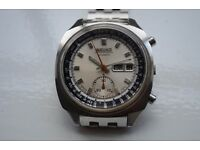 Seiko Doctor's automatic mechanical chronograph wristwatch - 6139-6022 - Japan - '70s