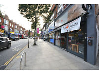 W3: Spacious A3 commercial premises on busy high street