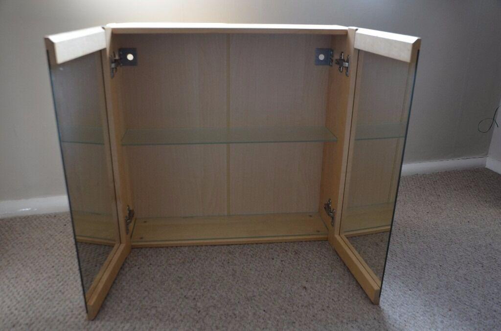 Ikea Bjorken mirror bathroom cabinet   in Sutton Coldfield, West ...