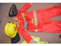 Dressing Up Clothes - Fireman Costume