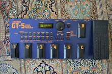 Boss GT-5 Multi-Effects Unit Lilyfield Leichhardt Area Preview