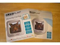 SUREFLAP Microchip Cat Flap + Mounting Adaptor (White) (Brand New) (Unbeatable Price)
