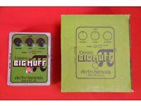 Electro-Harmonix Bass Big Muff Pi Distortion Pedal Boxed £65